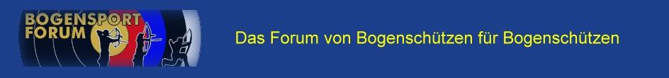 Das Bogensport-Forum Foren-Übersicht